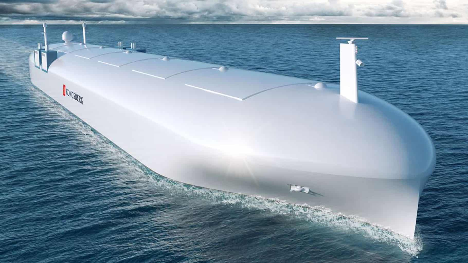 The future of autonomous ships rests in their ability to tackle cyberattacks (Photo: Kongsberg)