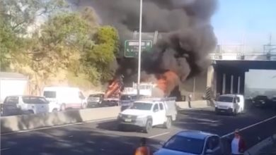 Photo of DOWN UNDER TRUCKING: massive multi-vehicle truck crash leaves two dead