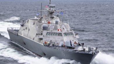 Photo of U.S. combat ship hits freighter in Canada (with video)
