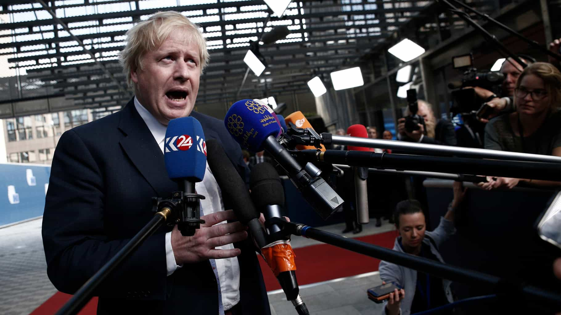 Boris Johnson could be the next Churchill if he delivers a favorable Brexit deal for the U.K. (Photo: Shutterstock)