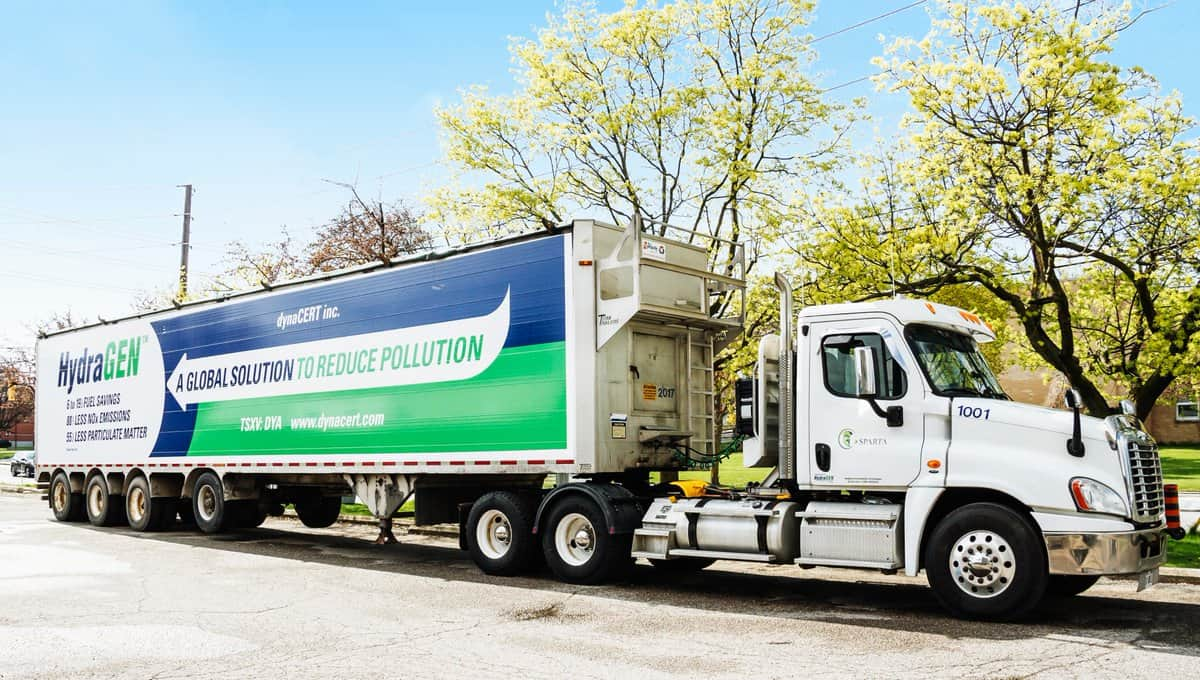 Mexican firm orders 100 carbon emission reducing units for trucks