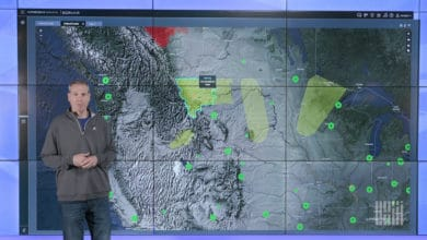Photo of Flash flooding and wildfire threats in western U.S. (forecast video)