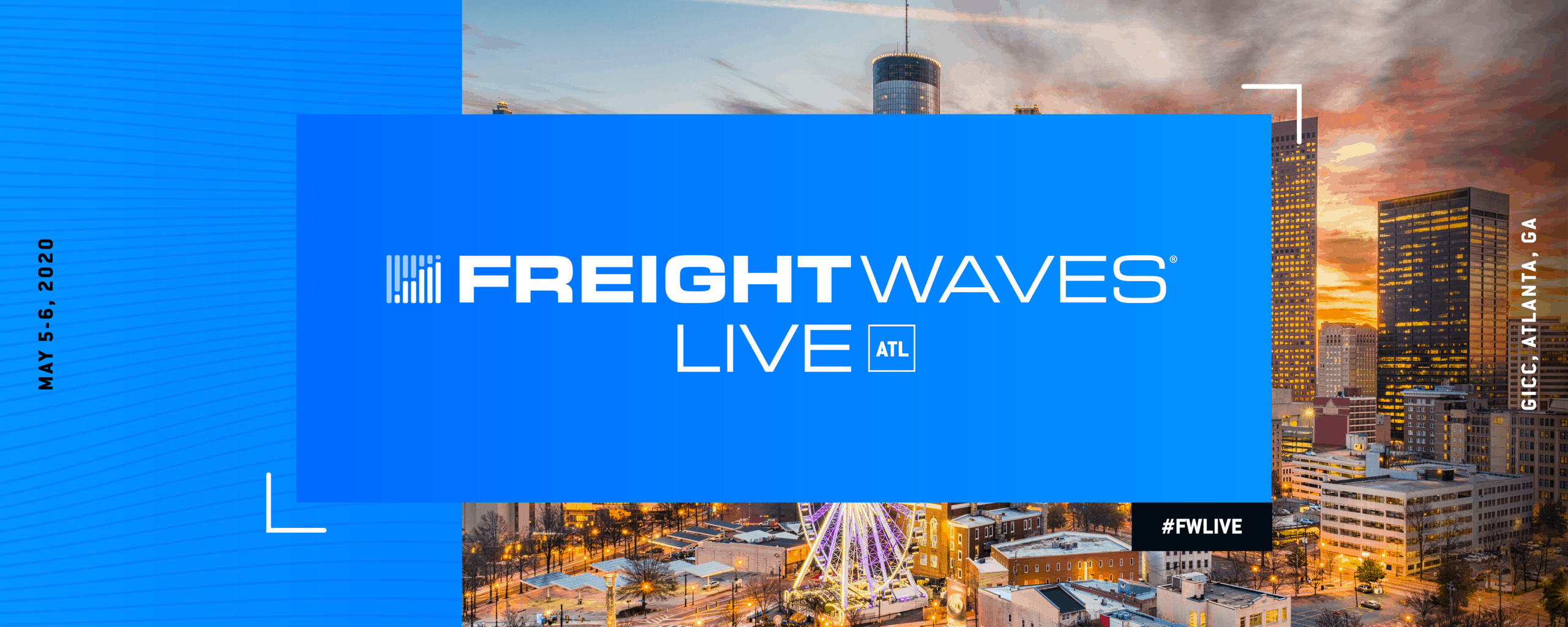 Atlanta Events 2020.Freightwaves Live Atl The Freight Tech Conference Of The