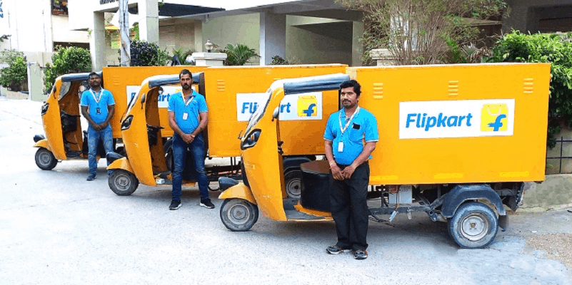 Indian e-commerce major Flipkart to replace 40 percent of its fleet with electric vehicles (Photo: Flipkart)