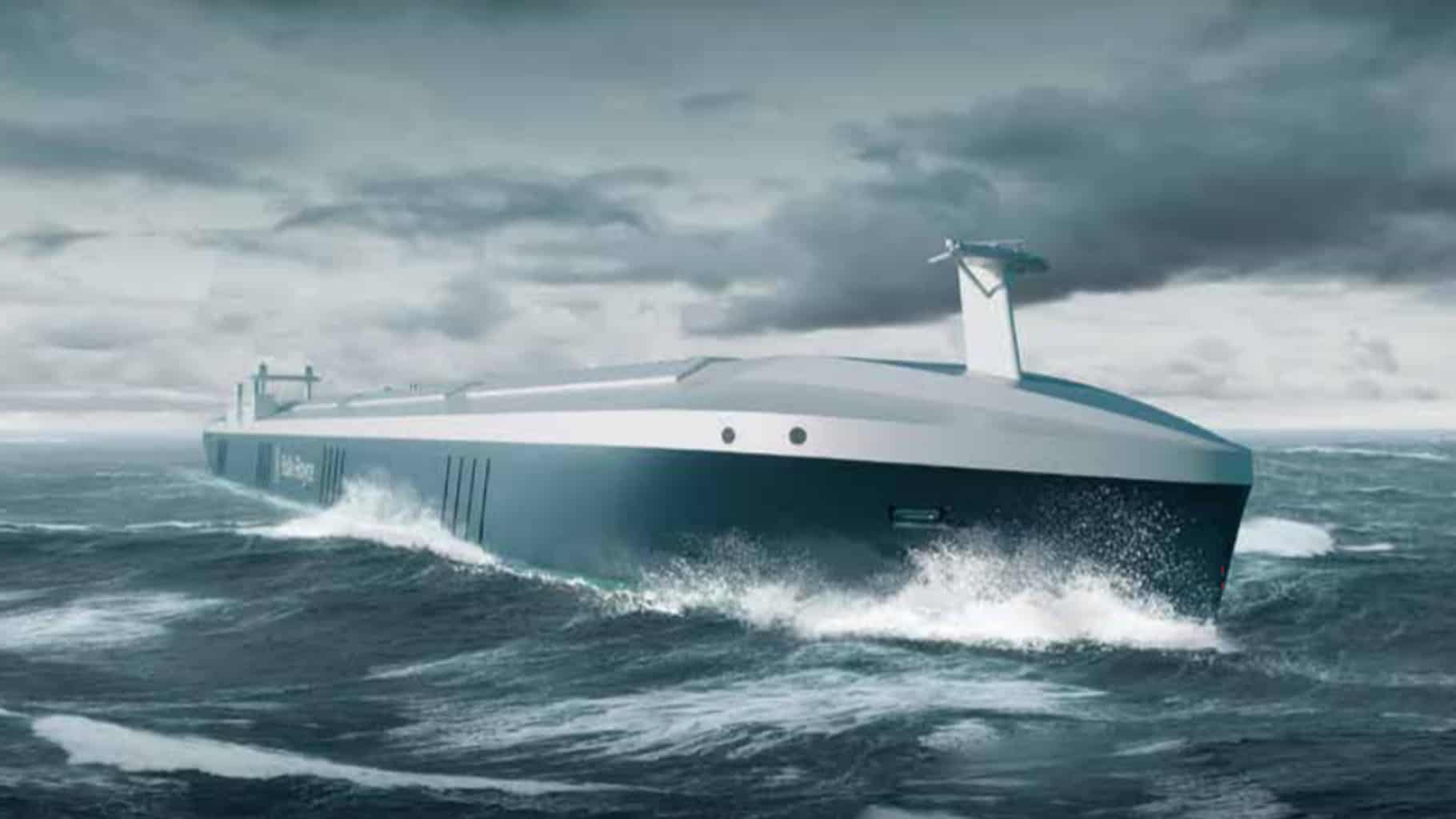 The problems of self-driving cars mirror the concerns of autonomous container ships (Photo: Rolls-Royce)