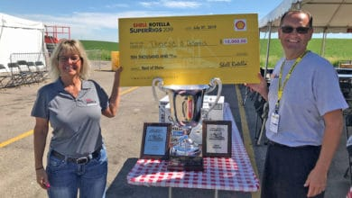 Photo of Witch-themed Peterbilt with 2.9 million miles flies to Shell Rotella Super Rigs top award