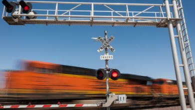 Photo of Oklahoma to fine freight railroads for blocking rail crossings