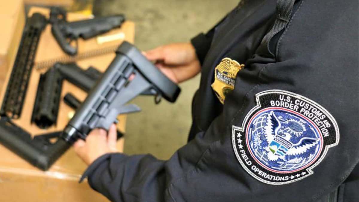 CBP seizes illicit shipment of Chinese firearm parts