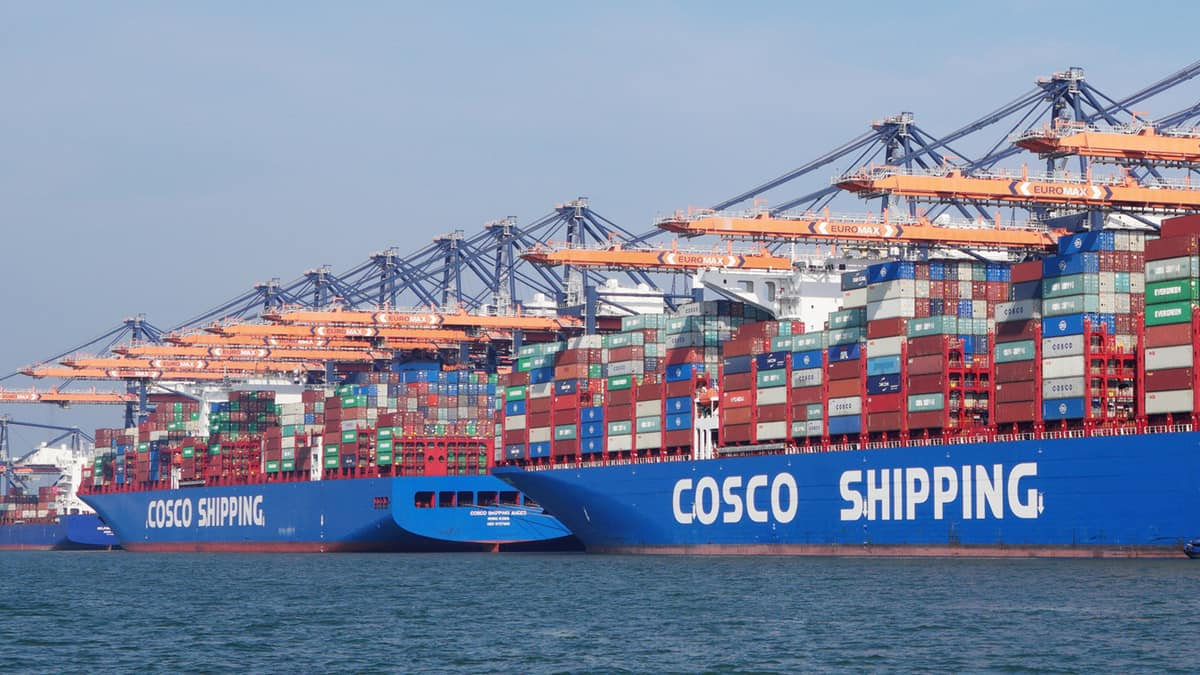 COSCO Shipping leans on new U S  trade partners for growth