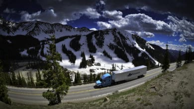 Photo of Trucking software supplier adds mountain corridor safety notifications