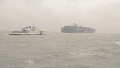 Photo of Crew safe after container fire on APL Le Havre off India coast