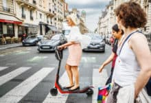 E-scooter companies pushed to the wall as Paris opts to restrict licenses (Photo: Shutterstock)