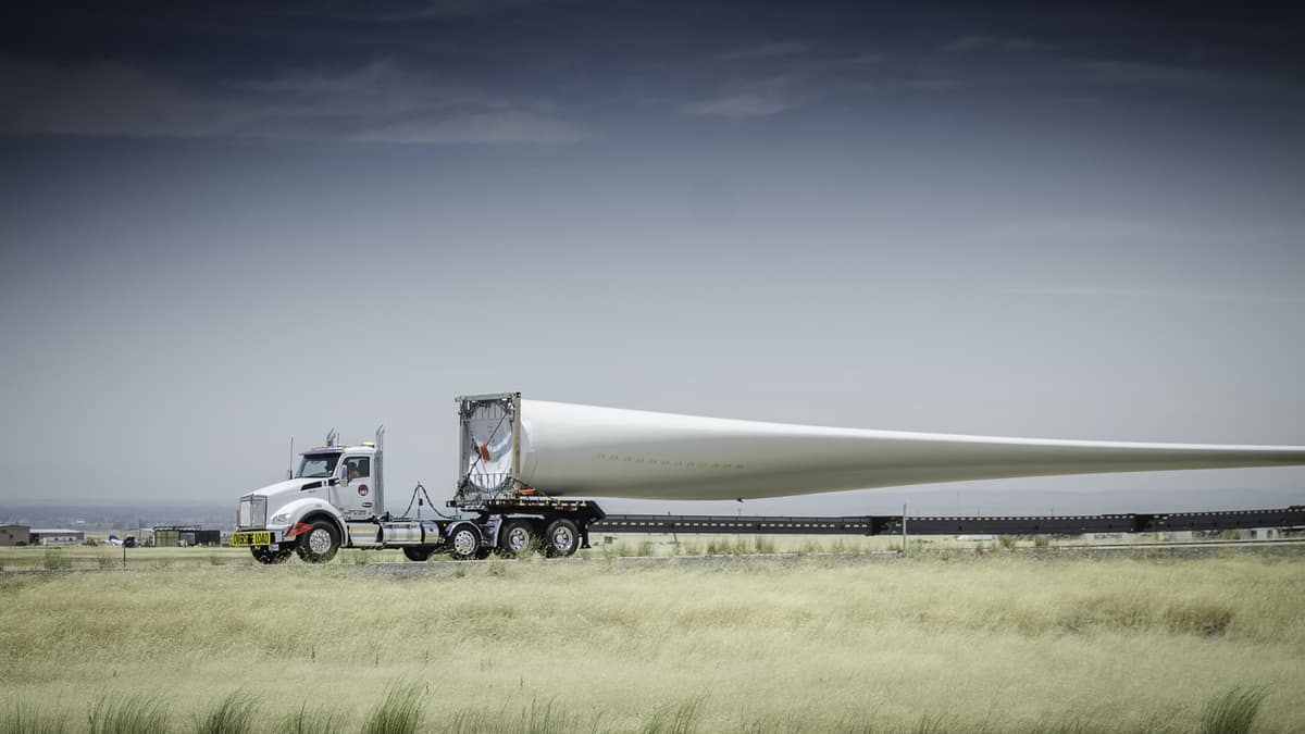 Shipping wind turbines is not a breeze - FreightWaves