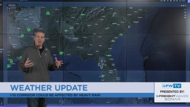 Photo of Florida flooding possible, scorching heat in Plains (forecast video)