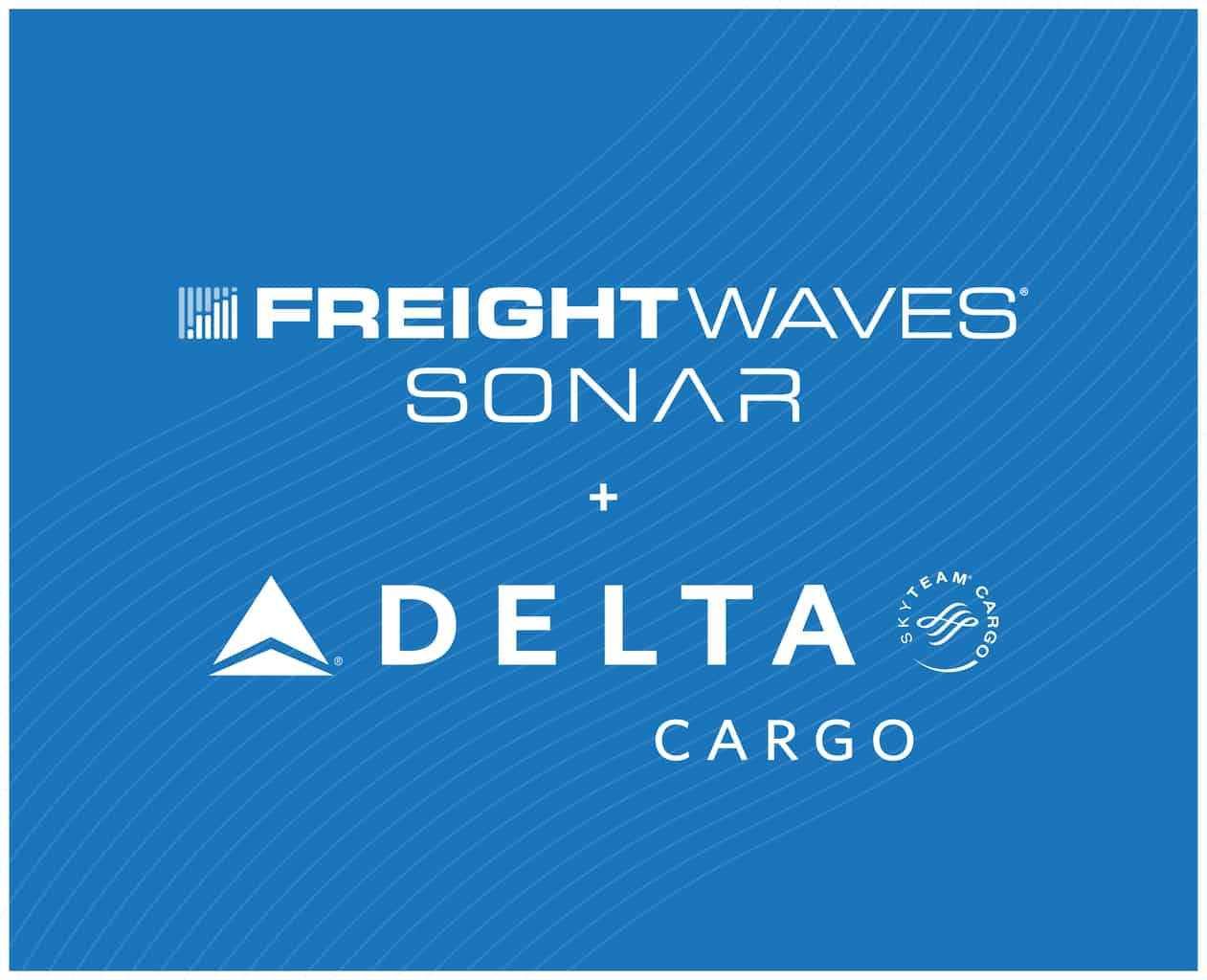 Delta Cargo chooses FreightWaves SONAR for global freight