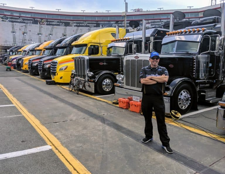 ?NASCAR roadies:? Truck drivers keep the sport moving - FreightWaves