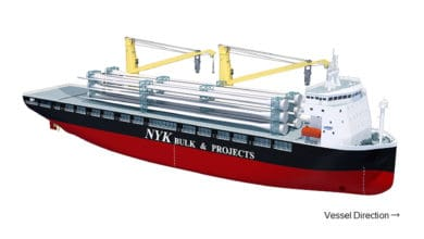Photo of NYK orders two heavy-lift ships