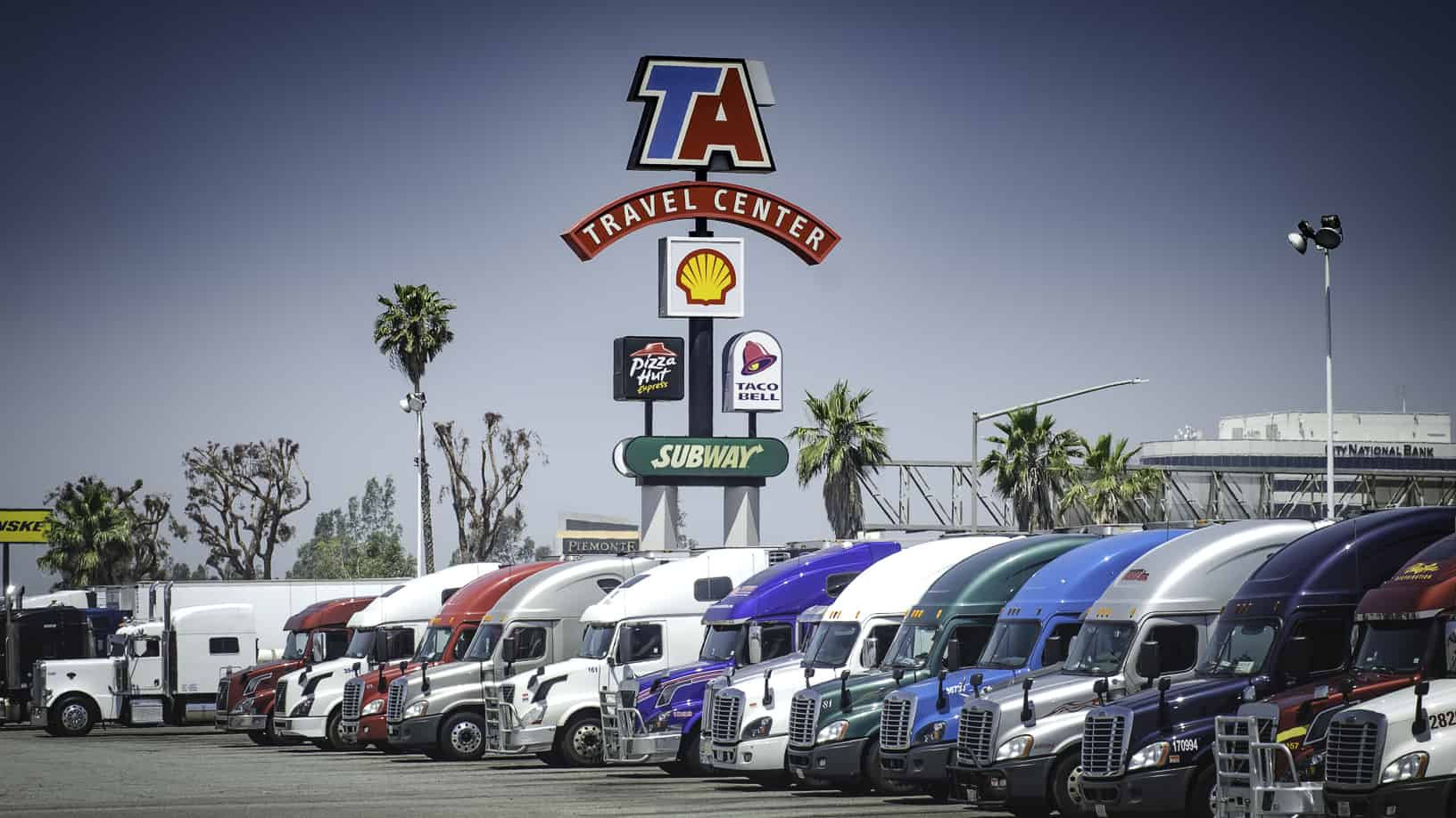 TA serves up improved revenue and income despite slower truck