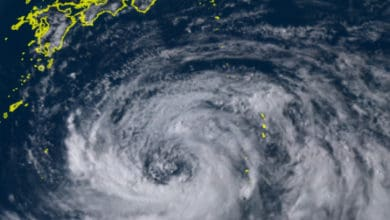 Photo of Tropical Storm Krosa may cause shipping troubles in eastern Asia