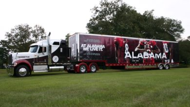 Photo of Freight All Kinds – The logistics of a college football game