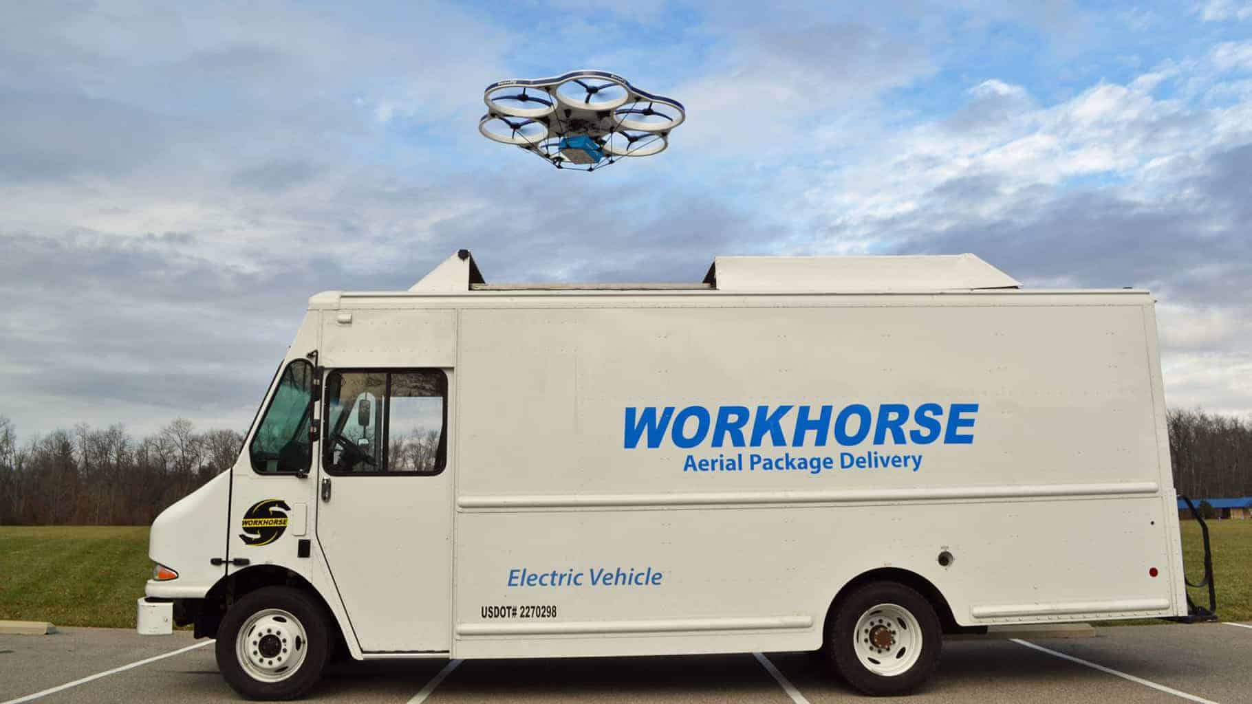 Workhorse Group takes paper hit because of politically fueled share