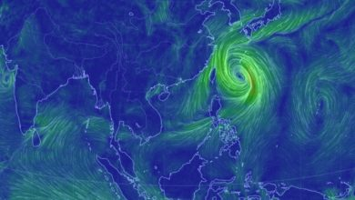 Photo of Typhoon Tapah to menace southern Japan and Korea