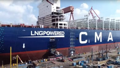 Photo of CMA CGM unveils LNG-fueled box ship giant (VIDEO)