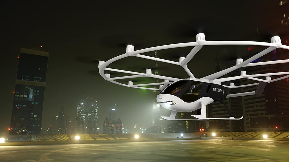 Air-taxi startup Volocopter raises €50M in Series C funding (Photo: Volocopter)