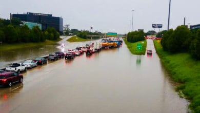 Photo of Remnants of Tropical Storm Imelda still affecting freight businesses in the Houston area