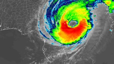 Photo of Hurricane Dorian continues to damage southeastern U.S.