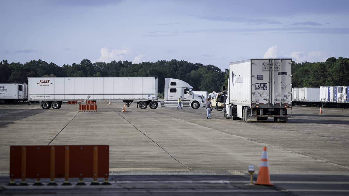 Slideshow: The freight before the storm - FreightWaves