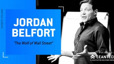 Photo of Jordan Belfort, the Wolf of Wall Street, to speak at FreightWaves LIVE Chicago