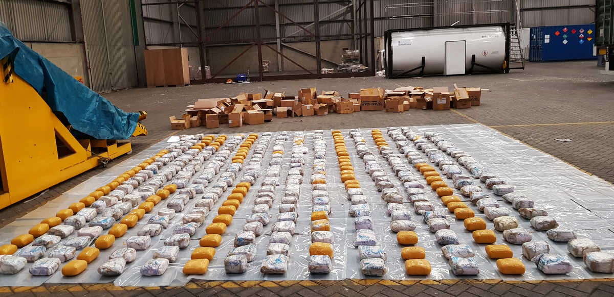 Record $148 million heroin bust made at UK port - FreightWaves