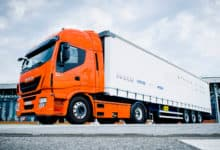 Diesel trucks are 'greener' compared to LNG trucks (Photo: Iveco)