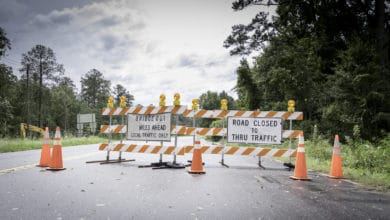 Photo of Flooding, road closures continue in southeastern Texas