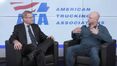 Photo of ATA president tackles trucker safety