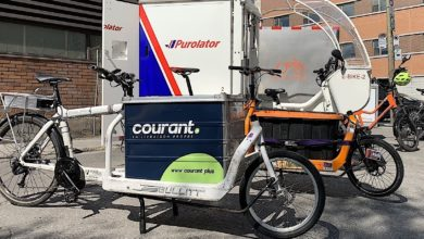 Photo of Maple Leaf Motoring: Cargo bikes replace trucks for final mile in Montreal pilot project
