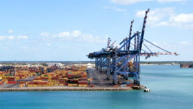 Photo of Freeport Harbor in Bahamas open for limited operations