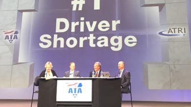 Photo of Survey says driver shortage, driver compensation top trucking industry concerns