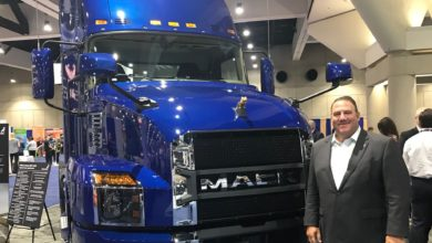 Photo of Mack Trucks sees its strength rising in a slowing market for over-the-road trucks
