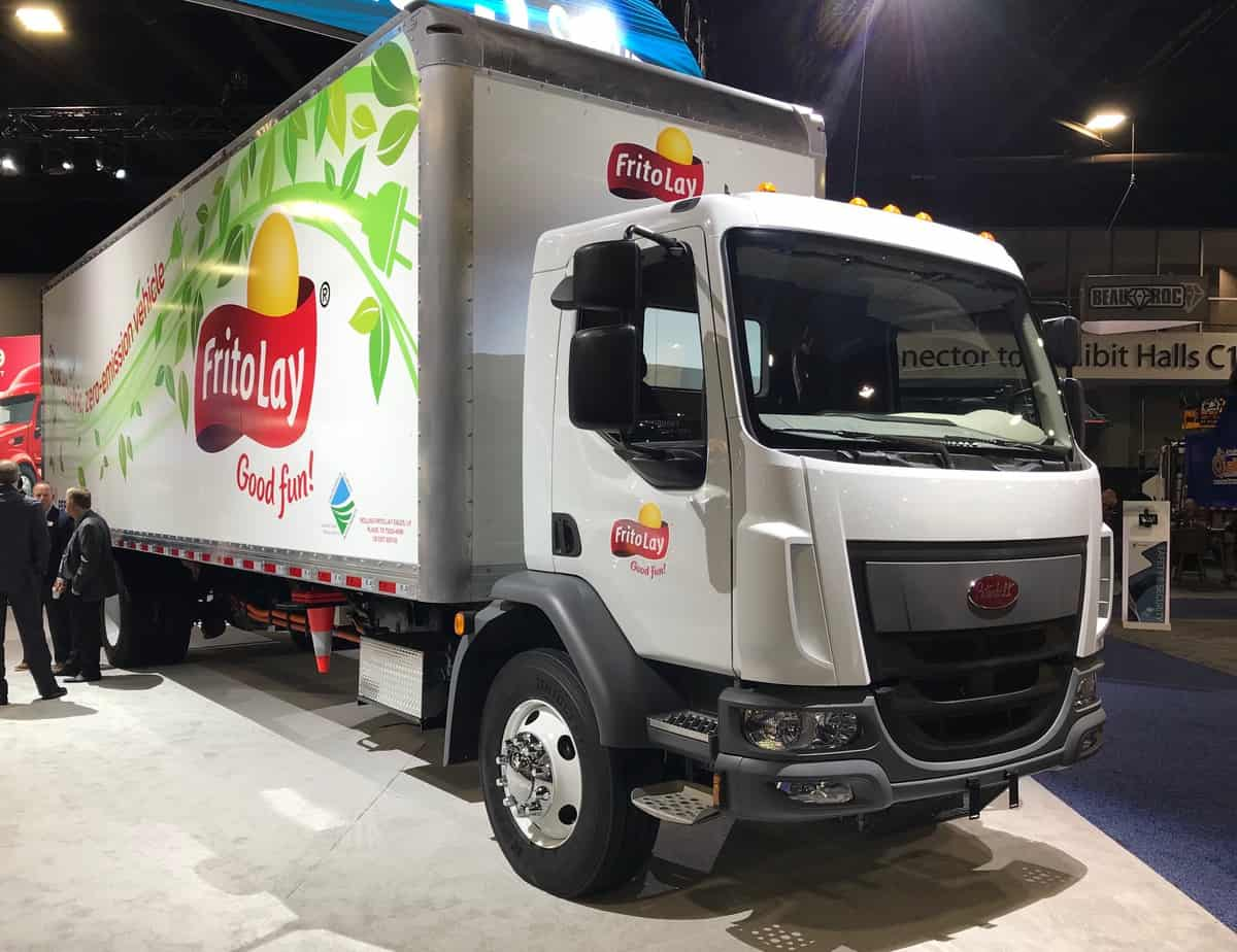 Peterbilt Will Begin Limited Electric Truck Sales In Late 2020 Freightwaves