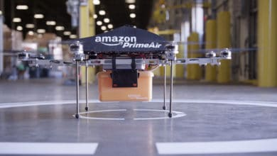 Photo of Amazon Prime Air VP touts environmental, safety benefits of drone delivery (with video)