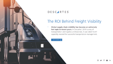 Photo of White Paper – The ROI Behind Freight Visibility