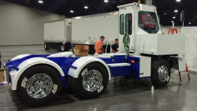 Photo of Dana, Lonestar Specialty Vehicles launch all-electric terminal tractor