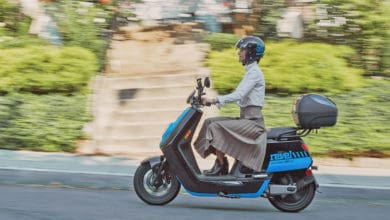 Photo of Shared moped startup raises $27.6 million and dodges gig-workers