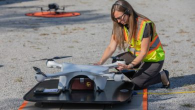 Photo of UPS certified for unlimited drone operations