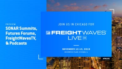 Photo of Fast data, tech and media light up FreightWaves Live Chicago