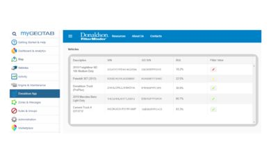"Photo of Donaldson partners with Geotab for ""the best filtration monitoring in the market"""