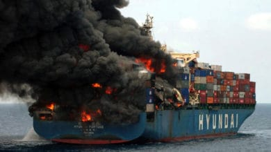 Photo of Insurers call for action to prevent container ship fires