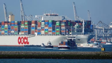 Photo of OOCL reports increase in third-quarter container volumes, revenue